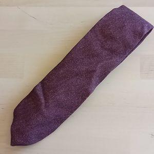 Isaia Napoli 7 Fold 100% Wool Tie